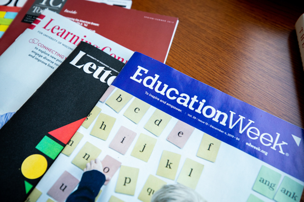 The cover of Education Week magazine